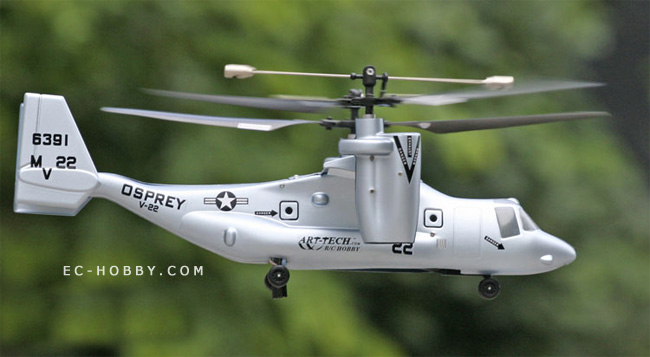 V22 Osprey Dual Rotor RC Scale Mode Helicopter