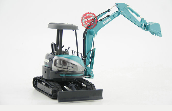 1/21 Scale KOBELCO SK35SR MINI EXCAVATOR Diecast Model, Kobelco Construction Equipment Model, construction machines Model, Excavator scale model.