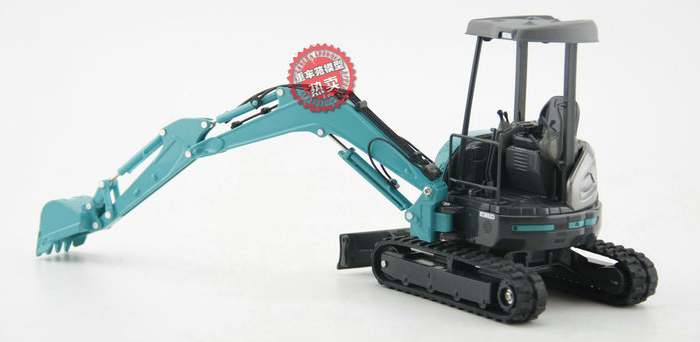 1/21 Scale KOBELCO SK35SR MINI EXCAVATOR Diecast Model, Kobelco Construction Equipment Model, construction machines Model, Excavator scale model