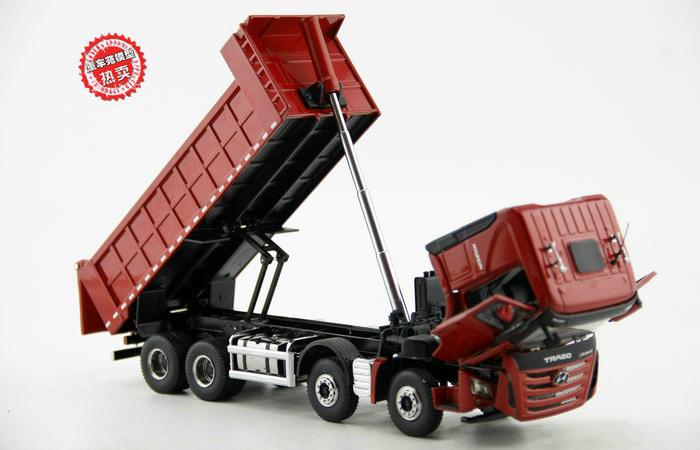 1/36 Scale Model Hyundai Trago Xcient Dump Truck Diecast Model, Truck Scale Model, Truck Toy, Dump Truck Model, tipper dumper truck toy.