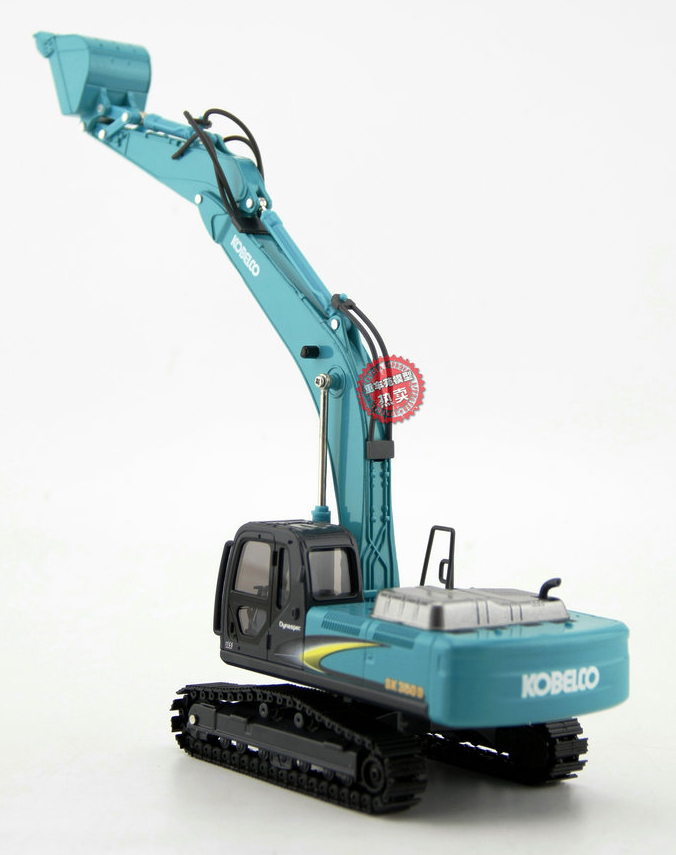 1/43 Scale Kobelco SK350D Excavator Diecast Model Metal Crawler, Kobelco Construction Equipment Model, construction machines Model, Excavator scale model