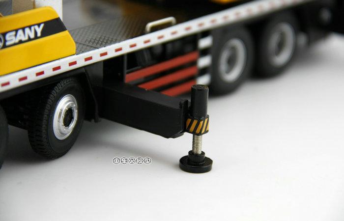 1/43 Scale Model SANY STC500 Mobile Crane Original Diecast Model, Construction Machinery, Construction vehicles, crane truck, lifting crane.