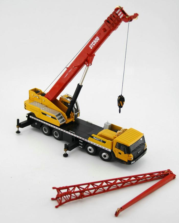 1/43 Scale Model SANY STC500 Mobile Crane Original Diecast Model, Construction Machinery, Construction vehicles, crane truck, lifting crane