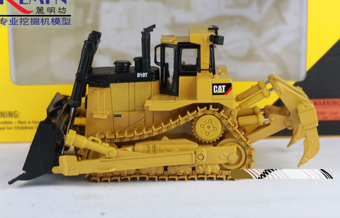 Norscot 55158 CAT D10T Track-Type Tractor Diecast Model, Construction Machinery Static model, Rescue Truck finished model, display model.