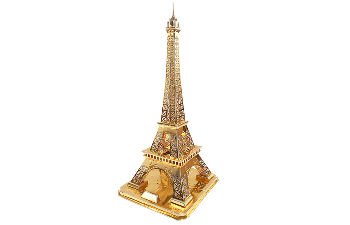 Cubicfun 3D Puzzle L199h Paris Eiffel Tower Paper Model Kit, Paper Toys.