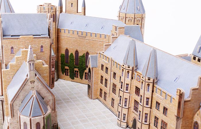 Cubicfun 3D Paper Puzzle MC232h Hohenzollern Castle Paper Building Model Kits, Paper Toys.