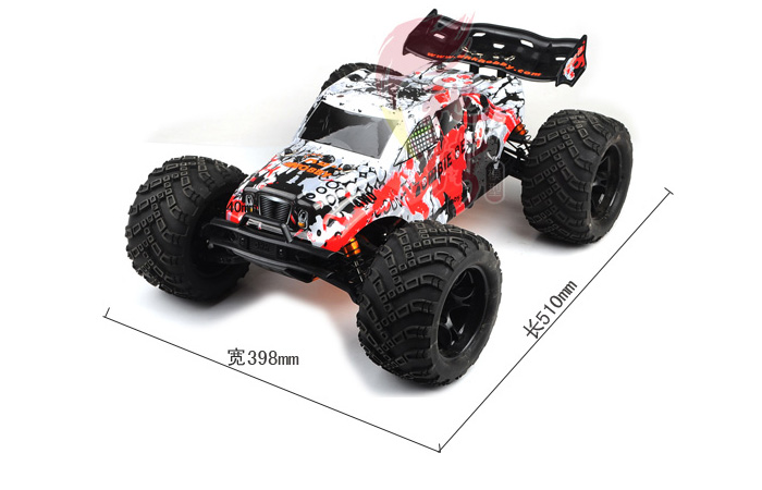 DHK-Hobby 8384 1/8 Big Scale RC Racing Truck, 2.4G Radio remote control, Brushless Motor, RC Off-road Car, 4WD RC  Desert Truck