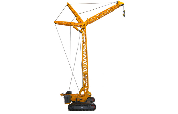 1/120 Scale Model XCMG XGC260 Crawler Crane, Engineering Machinery Diecast Model.