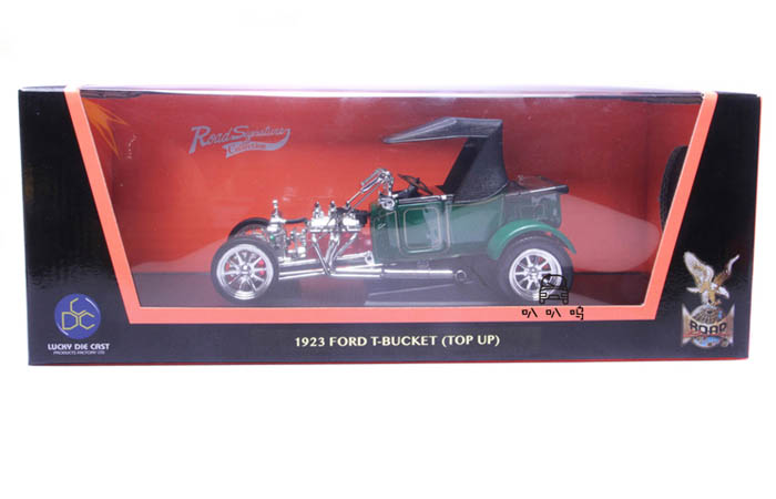 1/18 Scale Model Car Lucky-Diecast 92829, 1923 FORD T-BUCKET (TOP UP) Diecast Model Car.