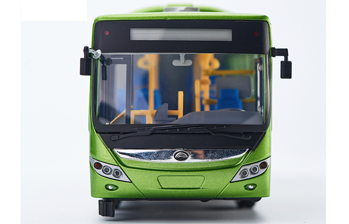 1/24 Scale Model YuTong Buses E12 Original Diecast Model Bus, Metal Scale Model Car, Gifts, Toys, Collectibles, Display Model, Static Model.