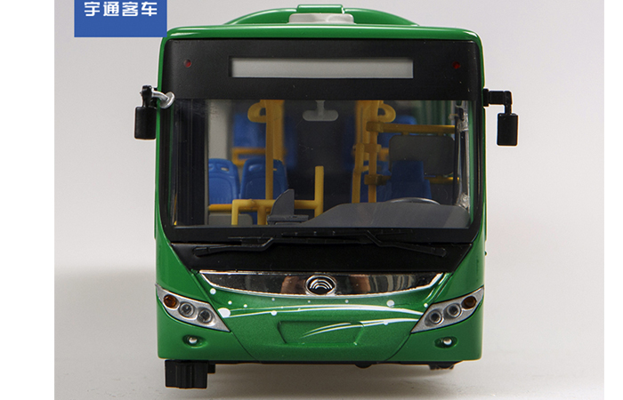 1/24 Scale Model YuTong Buses ZK6125CHEVPG4 Original Diecast Model Bus, Metal Scale Model Car, Gifts, Toys, Collectibles, Display Model, Static Model.