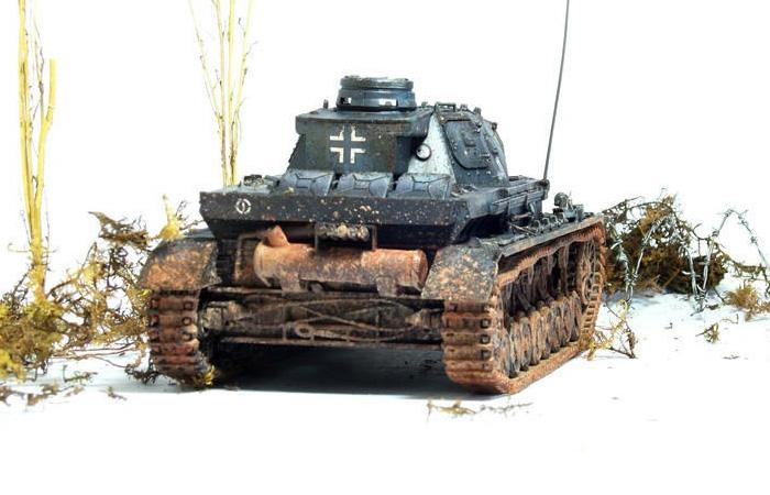 1/35 Scale Tamiya Plastic Tank Model Kit 35096 WWII Germany Panzer Kampfwagen IV Ausf.D.