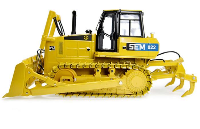 1/35 Scale Model SEM Machinery SEM-822 Bulldozer Diecast Model, Zinc Alloy Model Toy.