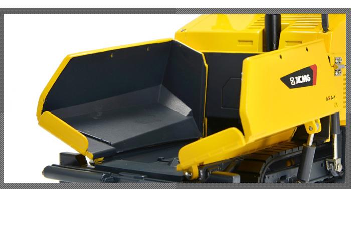 1/35 Scale Model XCMG RP1256 Asphalt Paver Diecast Model, Zinc Alloy Model Toy.