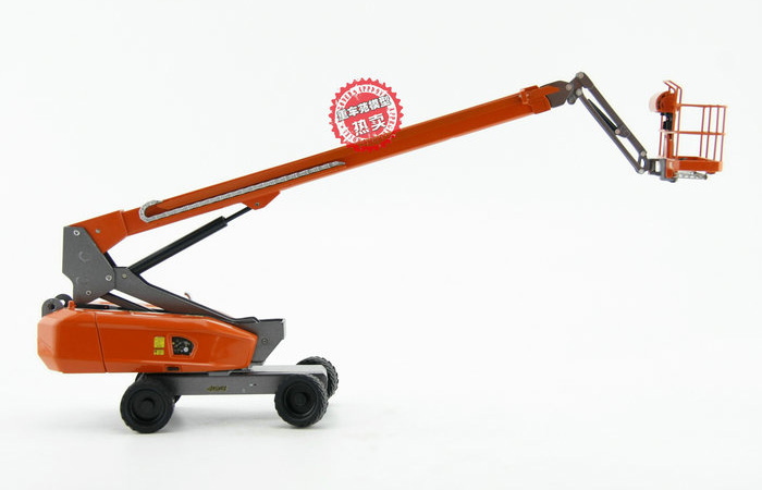 1/40 Scale Model Dingli GTBZ24S BOOM LIFT, Construction Machinery Diecast Model.