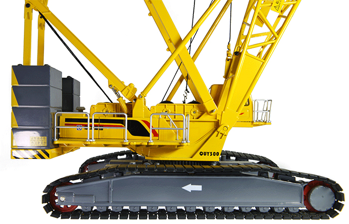 1/50 Scale Model XCMG QUY300 Crawler Crane, Engineering Machinery Diecast Model.