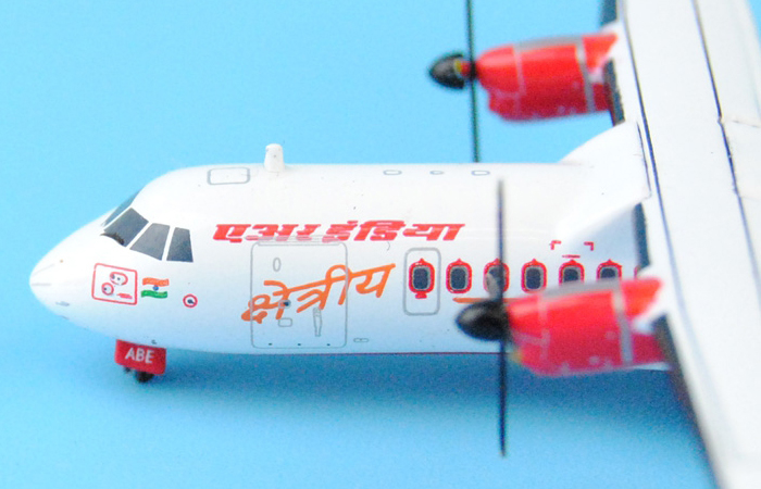 1/400 Model Airplane JC-Wings XX4009 Air India ATR-42-320 VT-ABE Aircraft Diecast Model Collectibles, Scale Model.