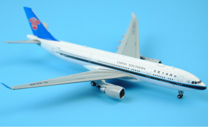 1/400 Model Airplane JC-Wings XX4311 China Southern Airlines Airbus A330-200 B-6548 Aircraft Diecast Model Collectibles, Scale Model.