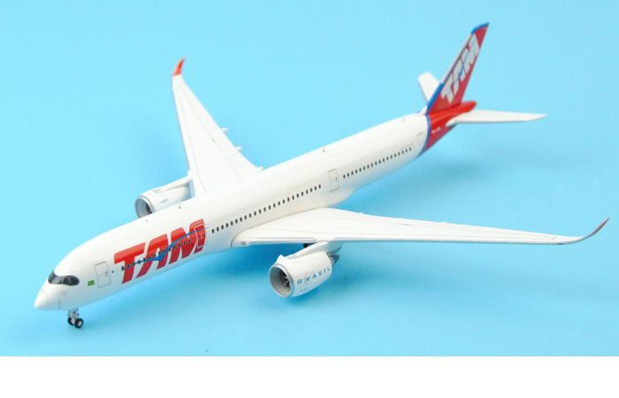 1/400 Model Airplane JC-Wings XX4665 Brazil TAM Airlines Airbus A350 XWB PR-XTA Aircraft Diecast Model Collectibles, Scale Model.
