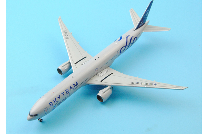 1/400 Model Airplane JC-Wings XX4666 China Southern Airlines Skyteam Boeing B777-300ER B-2049 Aircraft Diecast Model Collectibles, Scale Model.