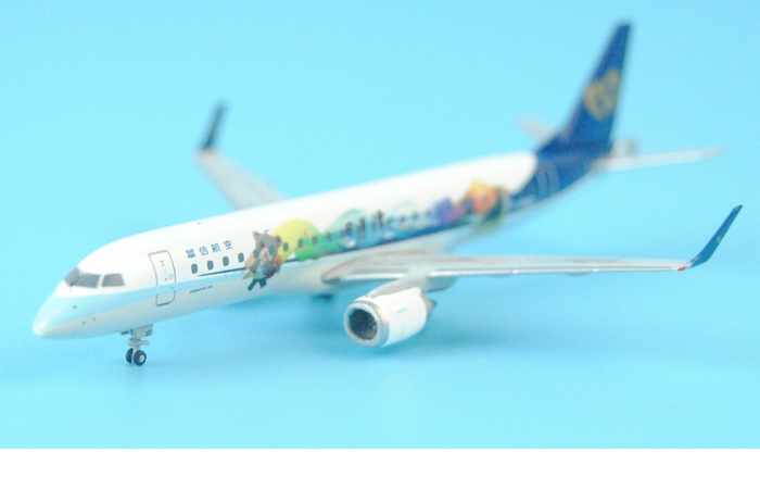 1/400 Model Airplane JC-Wings XX4669 Mandarin Airlines Embraer ERJ-190 B-16829 Aircraft Diecast Model Collectibles, Scale Model.