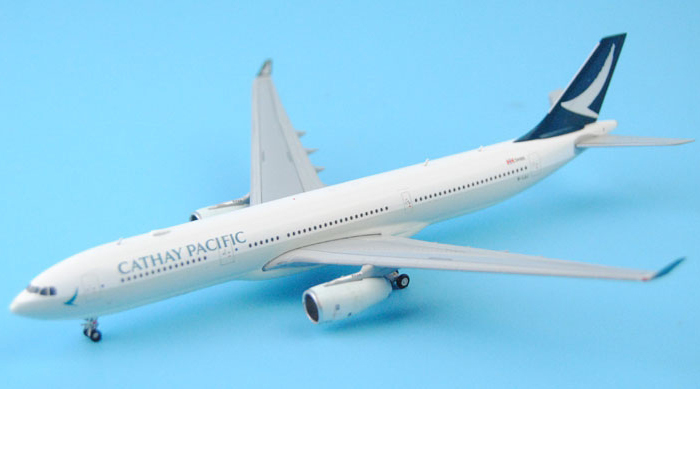 1/400 Model Airplane JC-Wings XX4689 Cathay Pacific Airways Airbus A330-300 B-LAJ Aircraft Diecast Model Collectibles, Scale Model.