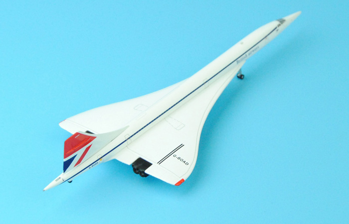1/400 Model Airplane JC-Wings XX4905 Singapore Airlines / British Airways Aerospatiale-BAC Concorde 102 G-BOAD Aircraft Diecast Model.