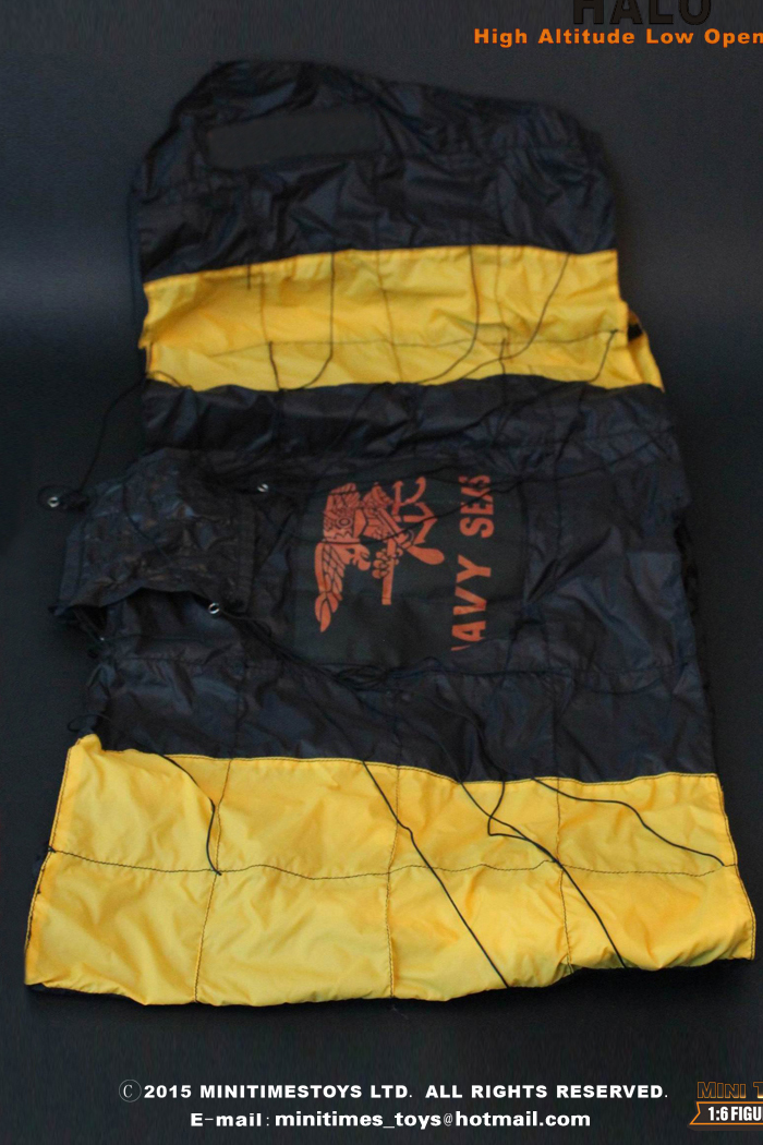 MINI TIMES Toys MT-M001 12 Inch U.S NAVY SEAL TEAM 2 HALO Jumper (High Altitude Low Opening).