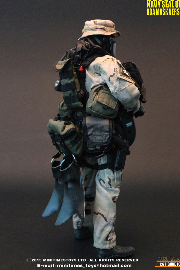 MINI TIMES Toys MT-M002 12 Inch USSOCOM Navy Seal UDT (AGA Mask Version) Figures Toy.