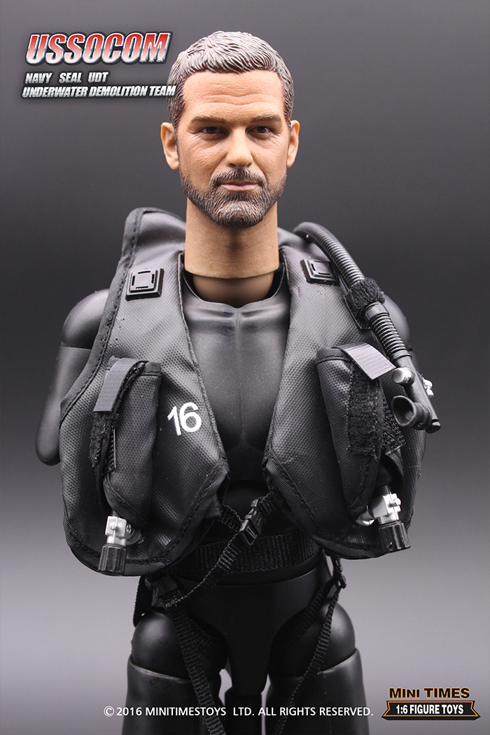 MINI TIMES Toys MT-M003 12 Inch USSOCOM NAVY SEAL UDT soldier Action Figures Toy.
