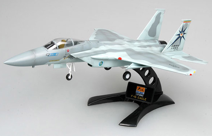 EASY-MODEL EAM37122 F-15A 76-0022 318th FIS Green Dragons 1984 Scale Aircraft Model�.