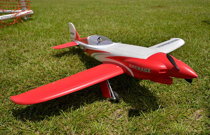 Ready to fly RC Scale model Nemesis NXT Racing plane 6 Channel 2.4g Radio remote control Fixed-wing glider