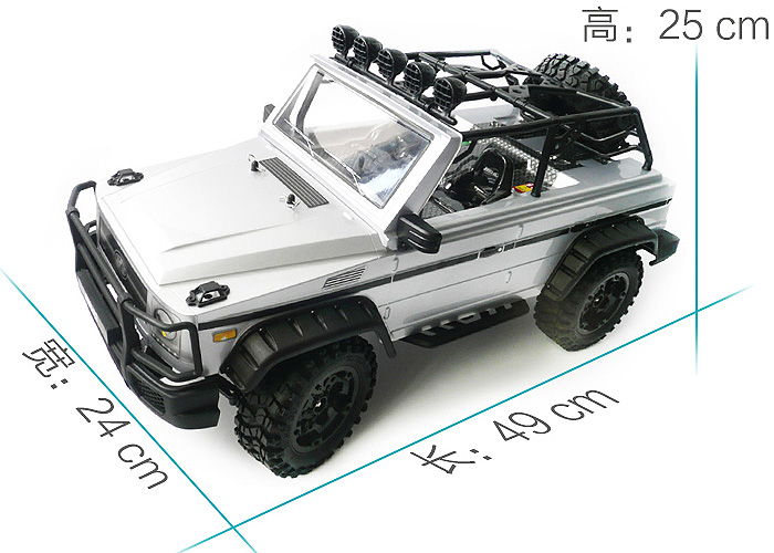 P401/P402 1/10 Scale Model Four-wheel drive RC Roadster Climb Car, RTR 4WD Off - road Crawler Car, HG-Toy