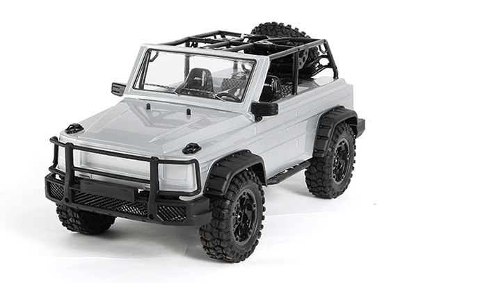 P401/P402 1/10 Scale Model Four-wheel drive RC Roadster Climb Car, RTR 4WD Off - road Crawler Car, HG-Toy.