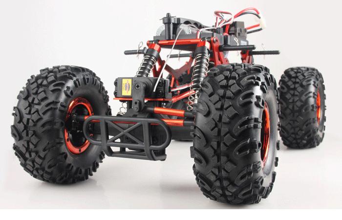Jeep Wrangler 1/10 Scale model RC Car, HSP 94180/94180L Rock crawling, remote control electric Four-wheel drive Climbing car