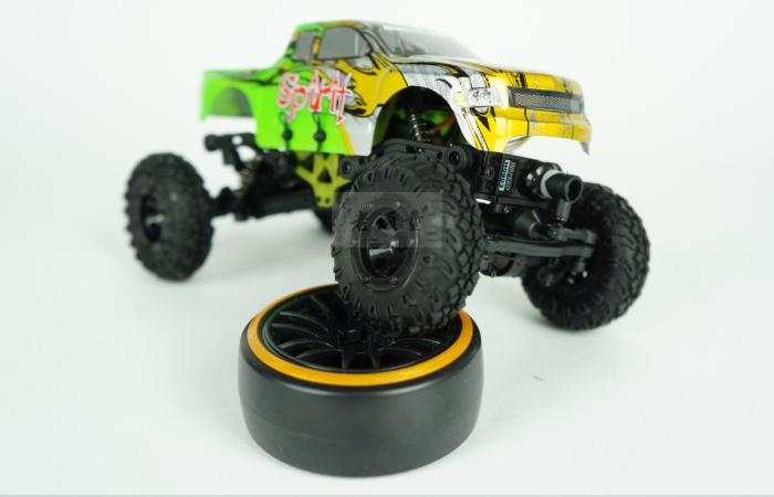 Jeep Wrangler 1/10 Scale model RC Car, HSP 94180/94180L Rock crawling, remote control electric Four-wheel drive Climbing car