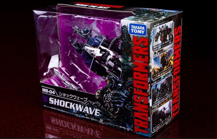 Hasbro, Takara Tomy, Transformers,Transformers 3 Dark of the Moon MB-04 Shockwave.