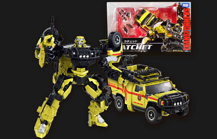 Hasbro, Takara Tomy, Transformers,Transformers 2 Revenge of the Fallen MB-06 Ratchet.