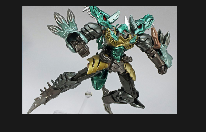 Hasbro, Takara Tomy, Transformers,Transformers 4 Age of Extinction MB-09 Grimlock Optimus Prime.