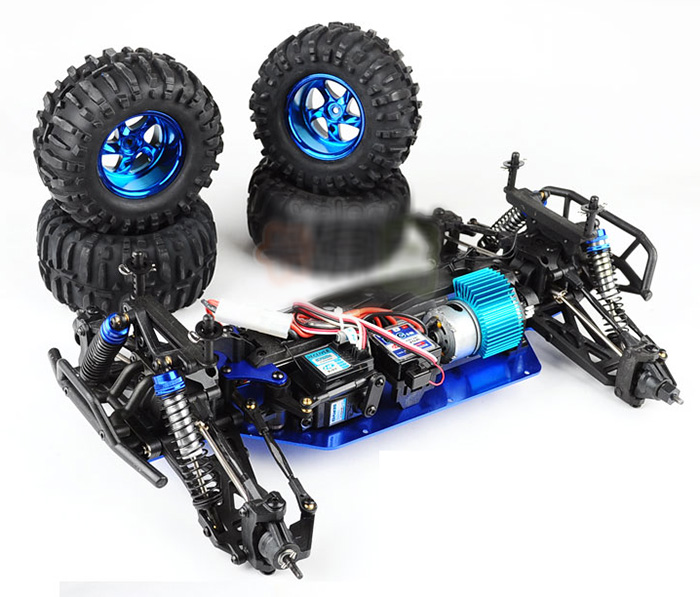 HengLong Toy 3851 RC Car 1/10 4x4 RC Offroad Bigfoot Hummer H2 4wd Electric Radio Control Car