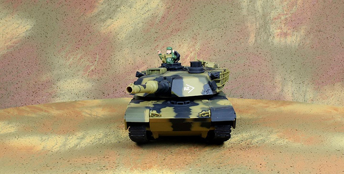 HENG-LONG Toys RC Tank 3816, USA M1A2 Abrams 1/24 Scale Model Remote control Tank, Airsoft tank,  military vehicles, radio control battle tank..