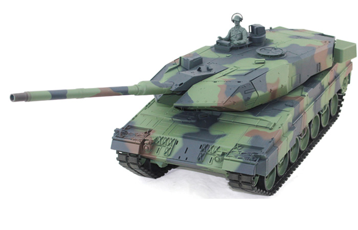 HENG-LONG Toys RC Tank 3889, GERMAN leopard 2 A6 Main Battle Tank 1/16 Scale Model Tank, Airsoft tank, military vehicles, radio control battle tank.