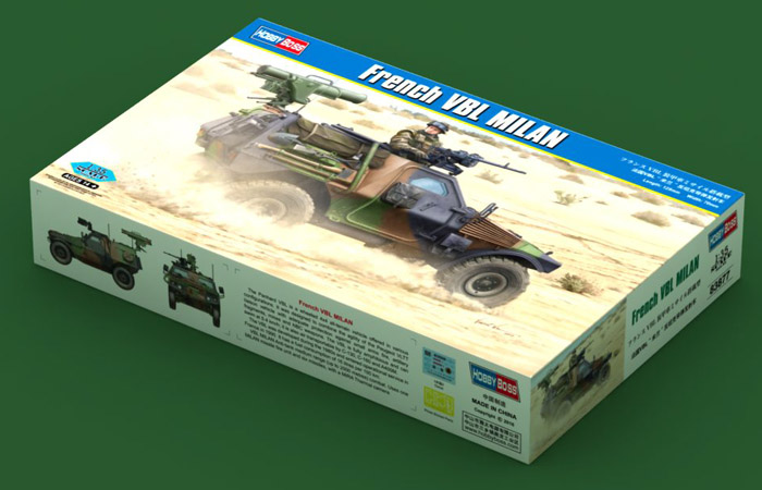 1/35 Scale Model Hobby Boss 83877 French VBL MILAN Plastic Model kits.