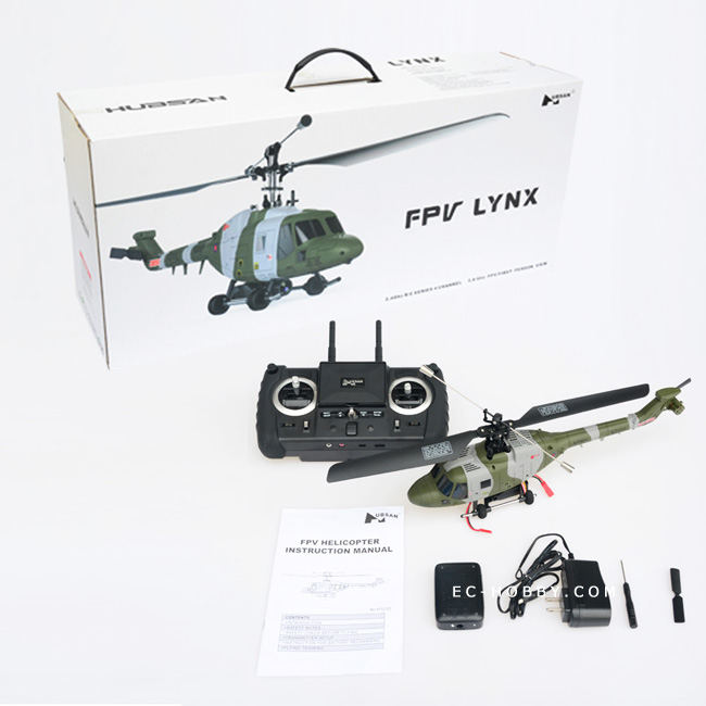 hubsan FPV/UAV rc helicopter/ westland lynx scale model/ 5.8ghz fpv helicopter/ RTF heli with camera