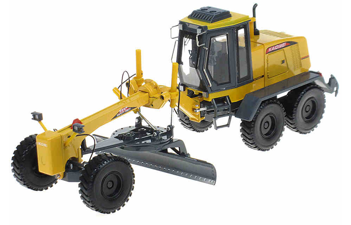 1/35 Scale Model Grader, Grader Machine Diecast Model.Engineering Equipment Toy.