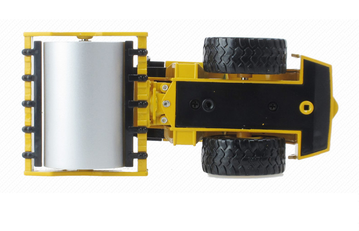 1/50 Scale Model Roller, Single-Drum Roller Diecast Model. Engineering Vehicle Toy.