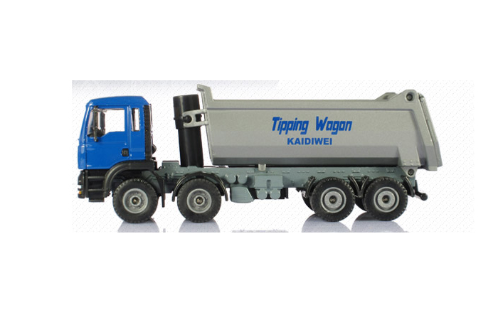 1/50 Scale Model Truck, Dump Truck Diecast Model. Truck Toy. Metal Truck Toy.