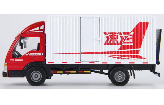 1/50 Scale Van Truck Diecast Model, Toy Truck.