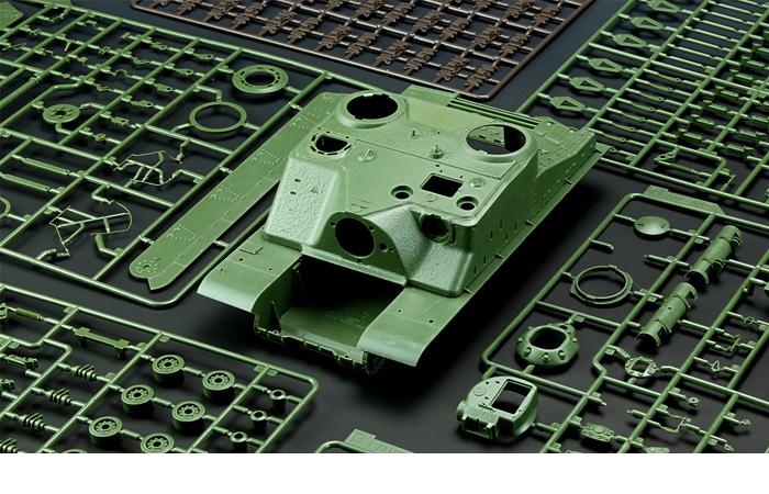 Meng-Model TS-002 1/35 Scale Plastic Model Kit BRITISH HEAVY ASSAULT TANK A39 TORTOISE Scale Model, Static Tank Model