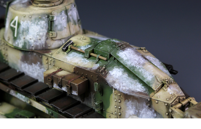 Meng-Model TS-008 1/35 Scale Plastic Model Kit French FT-17 Light Tank (Cast Turret Type) Scale  Model, Static Tank Model.
